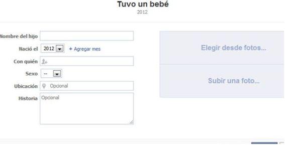 facebook anuncia embarazod