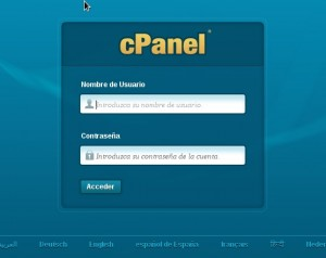 clave cpanel