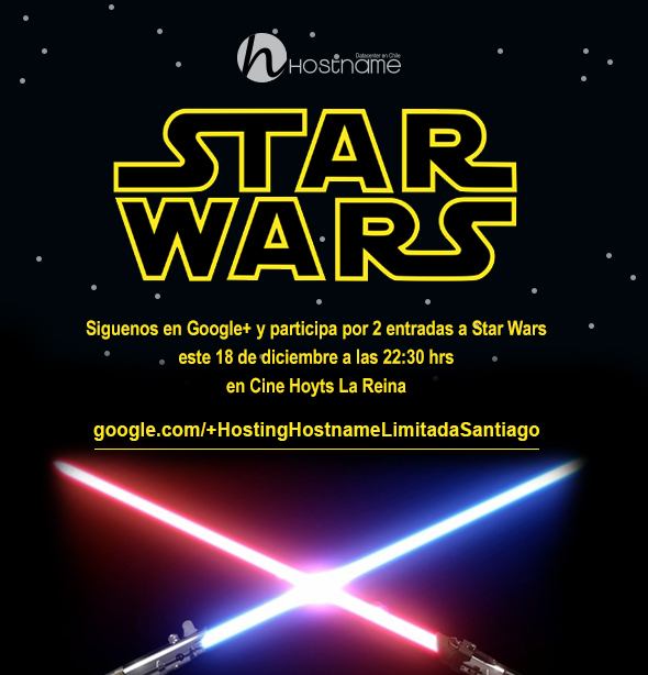 Concurso Hostname Star Wars