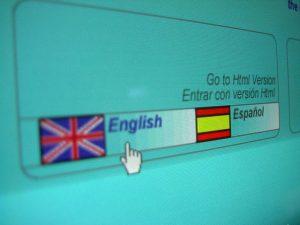 Sitio web multilingüe