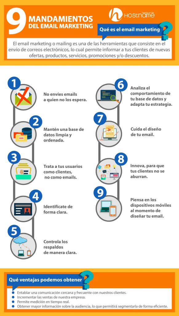 Infografía email marketing