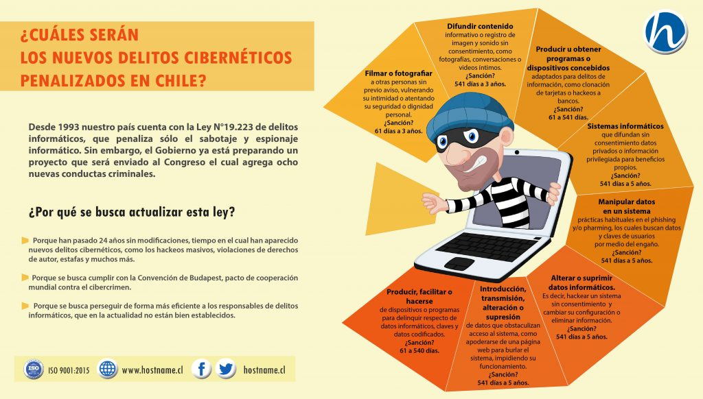 Ley Delitos Cibernéticos