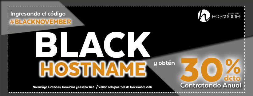 Black November Hostaname