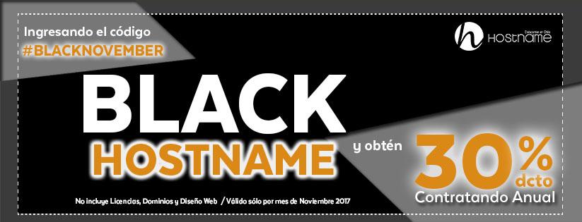 Black November Hostaname
