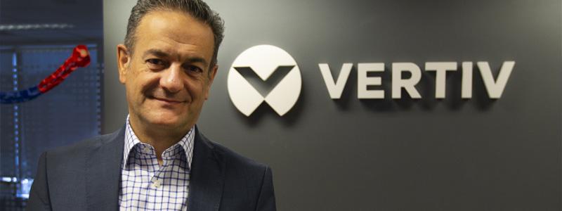 Fernando García, vicepresidente de Vertiv