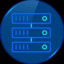 icono vector servidor dedidaco alojamiento